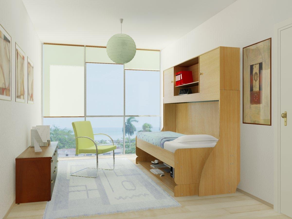 Room With Hiddenbed (Bed) .JPG